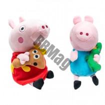 peppa pig de plus cu sunete , peppa pig george si peppa , purcelusa peppa george , purcelusa peppa de plus cu sunete , purcelusa peppa desene , jucarii peppa pig , jucarii de plus peppa pig george , jucarii de plus peppa pig
